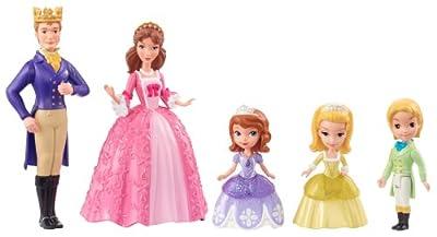 Sofia the First - Set de figuras de Familia Real (5 unidades) por SOFIA THE FIRST
