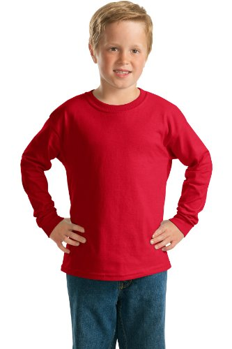 Gildan - Youth Ultra Cotton Long Sleeve T-Shirt. 2400B (Youth Cotton T-shirt Gildan Ultra)