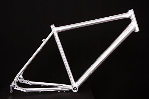 """28"""" Zoll Alu Fahrrad Rahmen Herren Trekking Disc Scheibenbremse Ketten Schaltung Rh 52cm"""