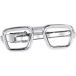 Original gafas- tono plateado