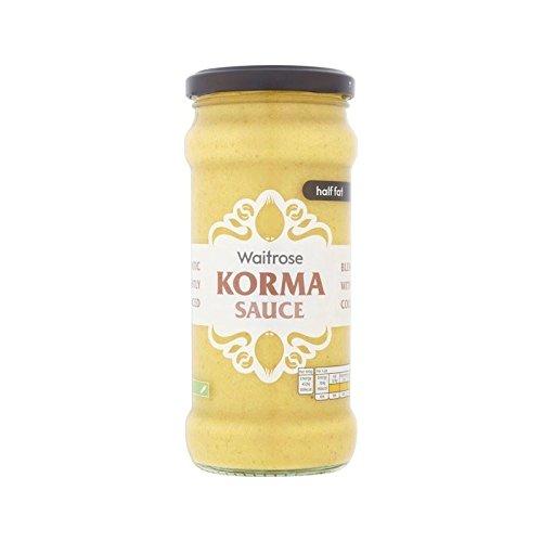 Moitié Korma Graisse Sauce De Cuisson Waitrose 350G - Paquet de 4