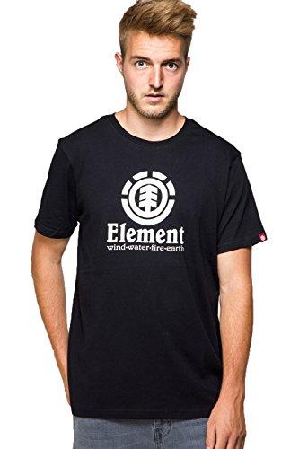 Element Herren Vertical Ss Shirt und Hemd Black