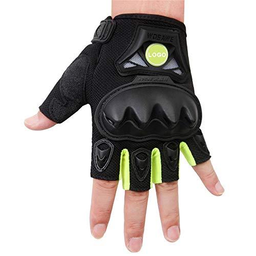 I nuovi guanti duri diteggiatura professionali del polpaccio paintball i guanti tattici di guida senza dita tattici della motocicletta