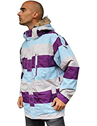 Chaqueta Esquí Snowboard Jacket Special Blend Control purple bl, color morado, tamaño medium