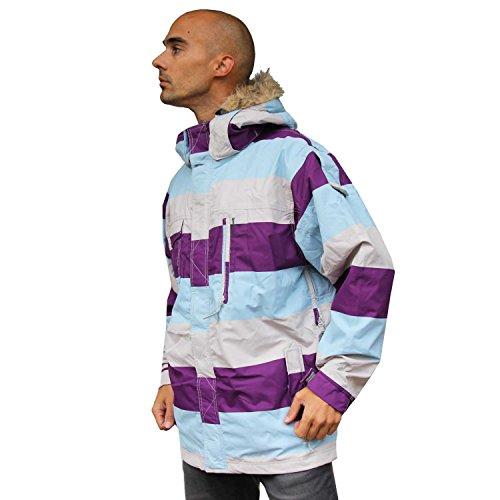 Jacke Ski Snowboard Jacket Special Blend Control Purple BL (Blend Hose Snowboard Special)