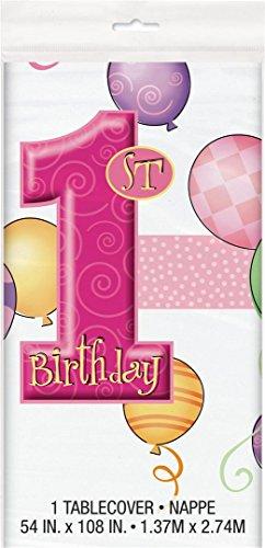 Unique Party Supplies 23883 Party-Zubehör, Plastiktischdecke