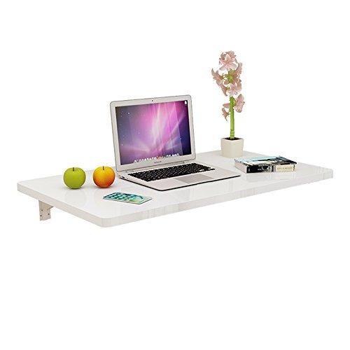 WNX Faltbarer an der Wand befestigter Drop-Leaf-Tisch Computer-Schreibtisch-Küche, der faltenden Frühstückstisch faltet (größe : 80×40cm) -