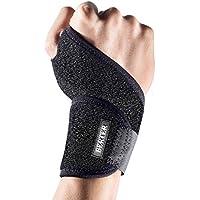 Bandage handgelenk Sport, Handgelenkstütze mit Klettverschluß für Kraftsport, Mausarm, handgelenk Arthritis & Alltag Fitness- Wrist Wrap passt links & rechts