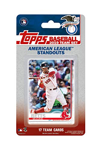 2019 Topps American League All Star Standouts Factory Sealed Limited Edition 17 Karten Team Set mit Mike Forelle, Aaron Judge, Justin Verlander und Mookie Betts Plus - Baseball-karten Topps