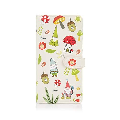 e Geldbörse für Junge Damen, Mädchen Geldbeutel Portmonaise groß Designs: (GNOME) ()