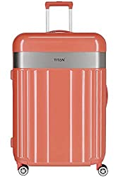 "TITAN Gepäckserie ""Spotlight Flash"" Trolleys und Beautycases in knallbunten Trendfarben Koffer, 76 cm, 102 L, Cape Coral"