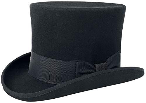 Gothicana by EMP Top Hat Chapeau Noir 55 cm