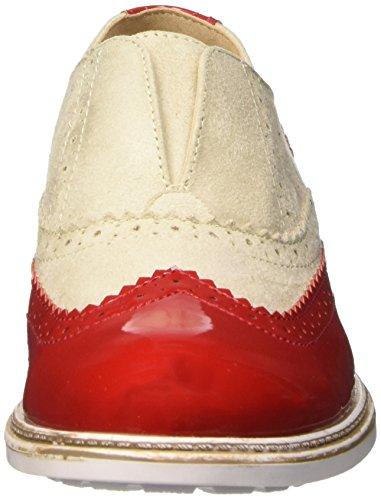 BATA 5195213, Mocassins Femme Rouge (Rosso)