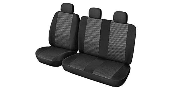 on DKMOTO DK72P3 Tailored Van Seat Covers for Mercedes Sprinter 2006 Volkswagen Crafter with fold down table