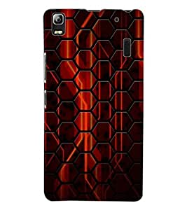ColourCraft Printed Design Back Case Cover for LENOVO K3 NOTE