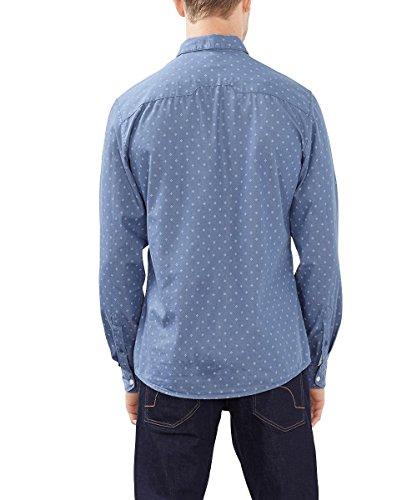 edc by Esprit 086cc2f010, Chemise Casual Homme Bleu (BLUE 430)