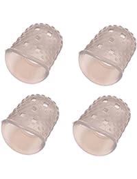 4 puntas de los dedos San Bodhi® de silicona flexible para mano izquierda, para