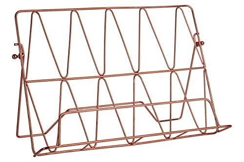 Premier Housewares Vertex Cookbook Stand - Copper Plated (Kitchen & Home)