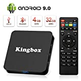 Android 9.0 TV Box [4GB RAM+32GB ROM], Superpow Android Box TV 4K, USB 3.0, BT 4.1, UHD H.265, HDMI, Smart TV Box Quad Core WiFi Media Player, Box TV Android [2019 Versión Última]