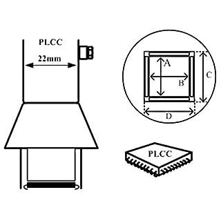 AOYUE [1188] Heißluftdüse PLCC 9x9mm 20Pins Heißluftstation/Lötstation