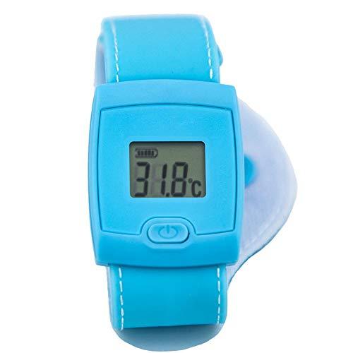 biback Miss-an Baby-Thermometer-intelligenter Bluetooth-Manschetten-Säuglings-Thermometer Mit Alarm Der Hohen Temperatur Drahtloser Bluetooth-Thermometer Für Kinder Von biback