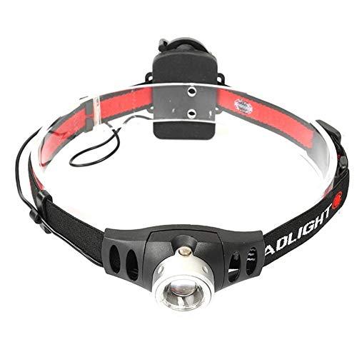 Starnearby Exploration Beauty TM-044 Mini Q5 - Linterna Frontal LED con Zoom