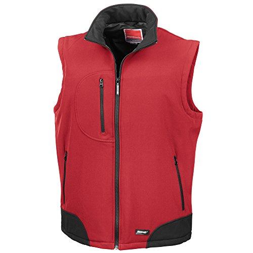 Result Softshell bodywarmer Red/ Black