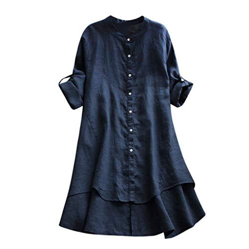 Vintage Kostüm 1900 - VJGOAL Damen Kleid, Damen Lässige Retro-Baumwolle