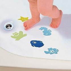 Dreambaby 10 Bath Kids Safety Appliques Anti Slip Tub Shower Textured Sticker