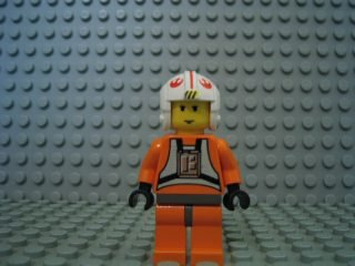 LEGO Star Wars - Minifigur Luke Skywalker Pilot sw019a aus Set - Lego Wars-luke Skywalker Star