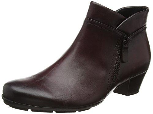 Gabor Shoes Basic, Stivaletti Donna, Rosso (Wine Effekt), 43 EU