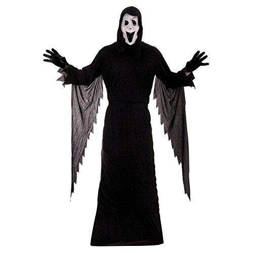 SCREAM DÄMON VERKLEIDUNG HALLOWEEN-GESPENST - Scary Kostüm Zu Machen