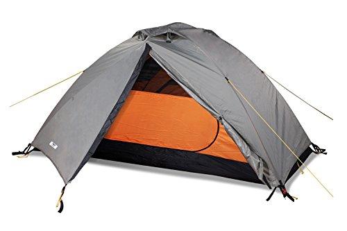 MIER Kuppelzelt Campingzelt für 2 Personen Wasserdichtes Outdoor-Reisezelt 3 Saison-Standfrei & Schnelles Setup, einschließlich Bodenplane, Eichengrün, MEHRWEG