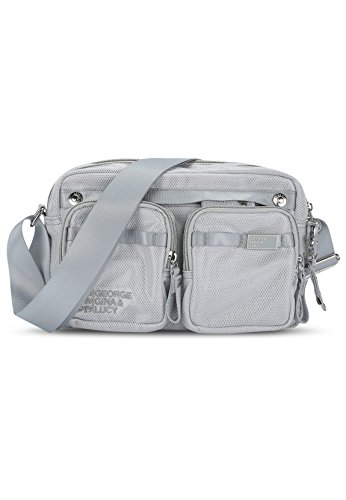 George Gina & Lucy Tasche LUNCH DATE grey mesh up 910