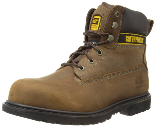 caterpillar-holton-steel-toe-s3-srivali-da-uomo-colore-marrone-dark-brown-taglia-43-eu-9-uk