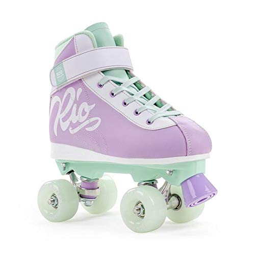 Rio Roller Rollschuhe Milkshake (Mint Berry, 37) (Skate Wheels Trucks Und Roller)