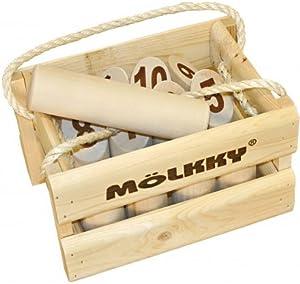 Juegos de táctica 52501 - Mölkky - El Juego Original de Lanzamiento de Madera