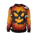 Cardith Unisex Cosplay Hoodie 3D Druck Pullover Sweatshirt Jacke Halloween Kostüm