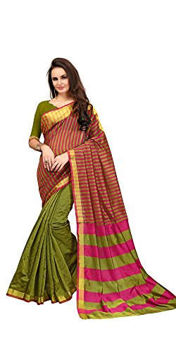 Saree(Ruchika Fashion Saree For Women Party Wear Half Sarees Offer Designer Below 500 Rupees Latest Design Under 300 Combo Art Silk New Collection 2017 In Latest With Designer Blouse Beautiful For Women Party Wear Sadi Offer Sarees Collection Kanchipuram Bollywood Bhagalpuri Embroidered Free Size Georgette Sari Mirror Work Marriage Wear Replica Sarees Wedding Casual Design With Blouse Material  available at amazon for Rs.399