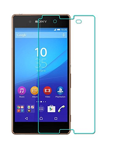 Glamio ANTI-SHATTER Tempered Glass Screen Protector Scratch Free Ultra Clear HD Screen Guard for Sony Xperia Z3  available at amazon for Rs.110