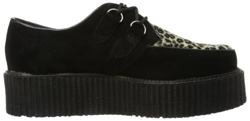 Brogue Nero Creeper Demonia nero 400 Uomo B6EOAqnwH