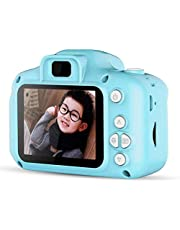 IndusBay Kids Digital Camera Video Recorder , Mini 2 Inches Screen Children's Camera 8MP Digital Camcorder Great Gift for 4-8 Year Old Girls Or Boys (Blue)