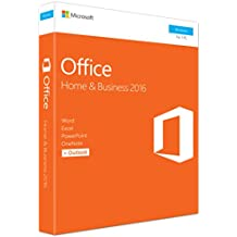 MS Office Home and Business 2016 Win P2 EuroZone Medialess English (EN)