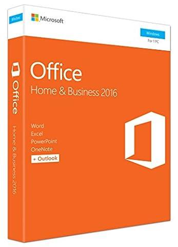 Office Famille et Petite entreprise 2016 1 PC-(PC en Téléchargement)