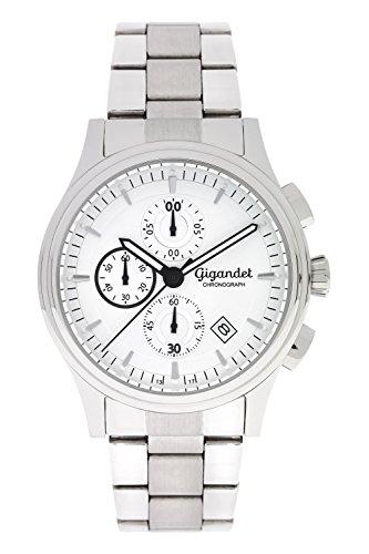 Gigandet Traveller Orologio Uomo Cronografo Analogico Quarzo Argento G44-003