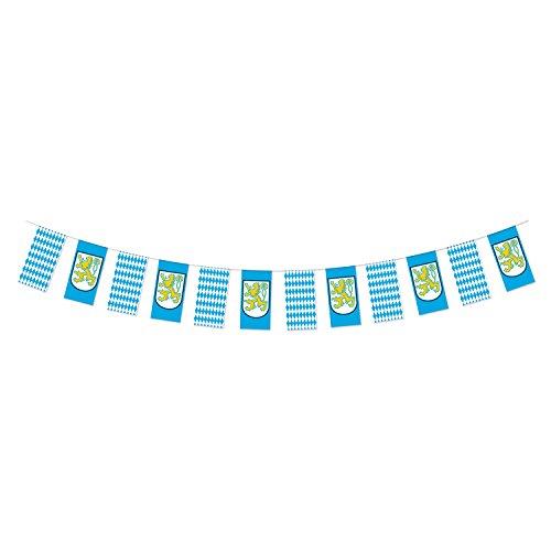 erfest Pennant Banner, 10von 12-feet, blau/weiß/gelb (Oktoberfest Banner Zeichen)