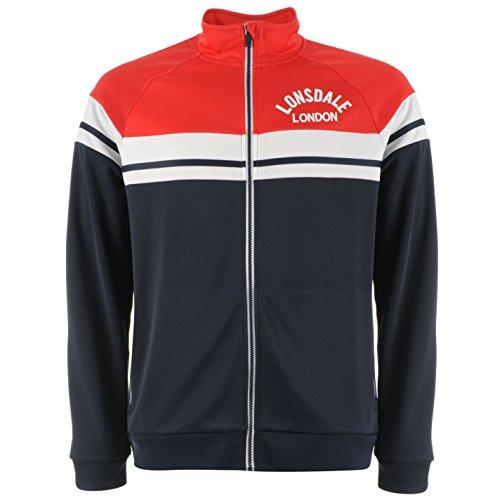 Lonsdale Herren Retro Trainingsjacke Sportjacke Jacke Kontrast ... 334443c6cd