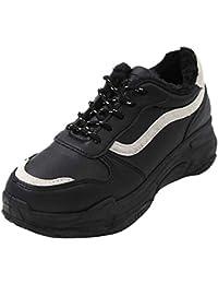 best website 59a11 7210b HUYURI Donna Scarpe da Ginnastica Corsa Sportive Fitness Running Sneakers  Basse Interior