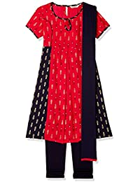Karigari Girls' Regular Fit Dress Suit