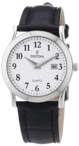 Festina Women's Quartz Watch F16521/1 with Leather Strap